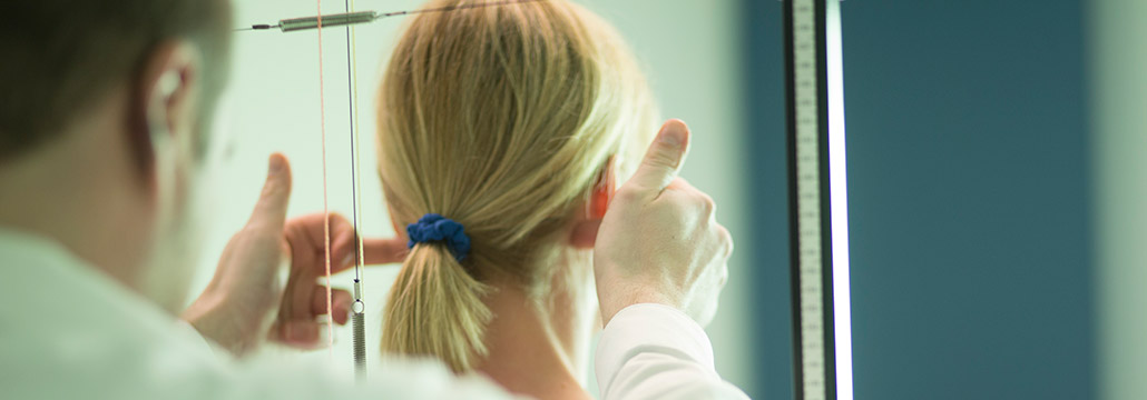 Diagnose Chiropraktik in Chiropraxis Landmann bei Hamburg