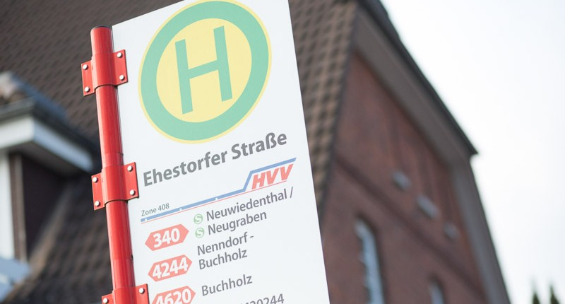 Ehestorfer Straße Haltestelle Chiropraxis Landmann bei Hamburg