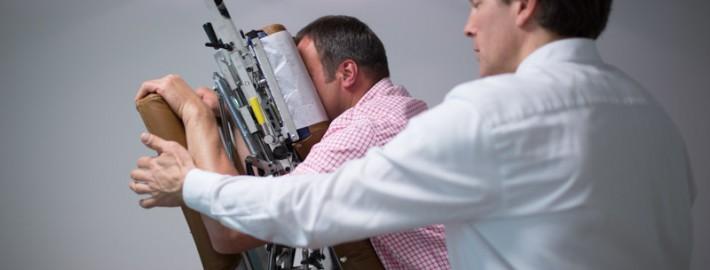 chiropraktische Behandlung in der Chiropraxis Landmann bei Hamburg