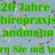 Jubiläum Chiropraxis Landmann in Rosengarten bei Hamburg – feiern Sie mit uns